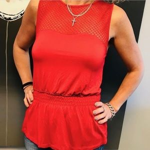 (3/$25) Tristan Sleeveless Top Size Medium